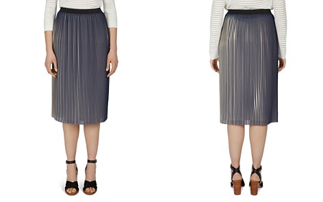 Gerard Darel Aaron Pleated Midi Skirt - Bloomingdale's_2