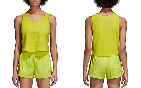 adidas Originals Trefoil Cropped Tank - Bloomingdale's_2