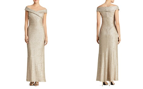 Lauren Ralph Lauren Sequined Off-the-Shoulder Gown - Bloomingdale's_2