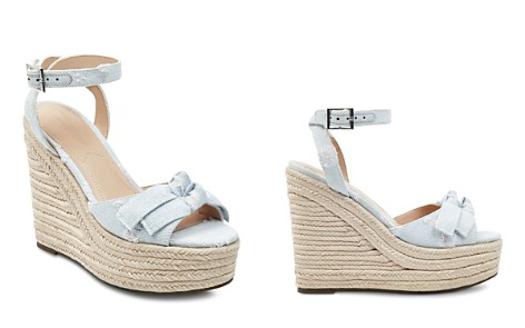 KENDALL and KYLIE Women's Gwenn2 Denim Espadrille Platform Wedge Sandals - Bloomingdale's_2