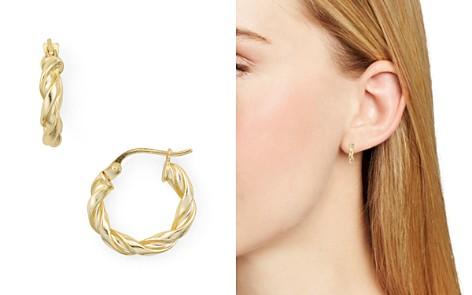 AQUA Spiral Huggie Hoop Earrings - 100% Exclusive - Bloomingdale's_2