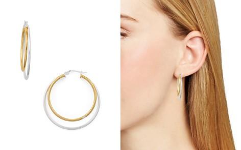 AQUA Double Hoop Earrings - 100% Exclusive - Bloomingdale's_2