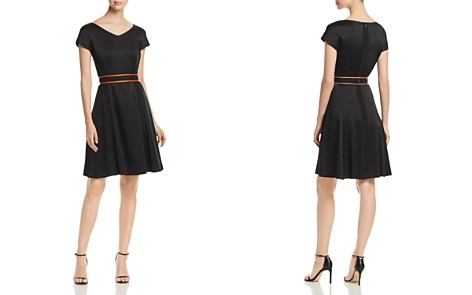 BOSS Dartonika Fit-and-Flare Dress - Bloomingdale's_2