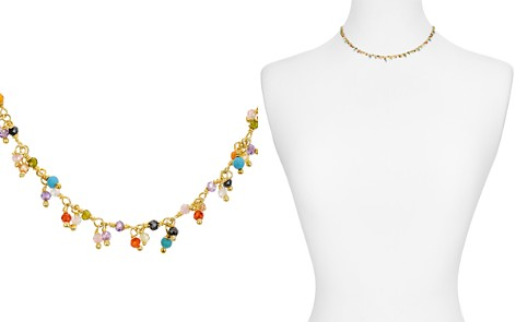 "Chan Luu Gold-Plated Multi-Stone Necklace, 15"" - Bloomingdale's_2"