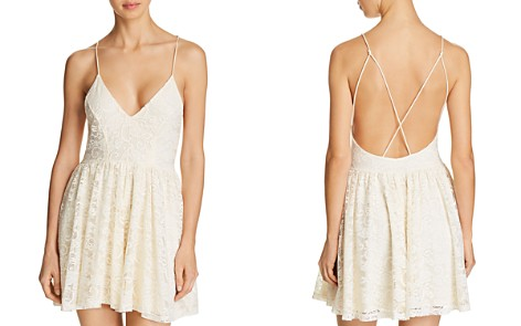 Sam Edelman Lace Sleep Romper - Bloomingdale's_2