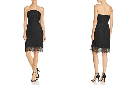 Sam Edelman Strapless Pineapple Lace Dress - Bloomingdale's_2