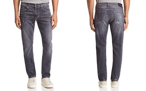 Hudson Blake Slim Straight Fit Jeans in Silver Lake - Bloomingdale's_2