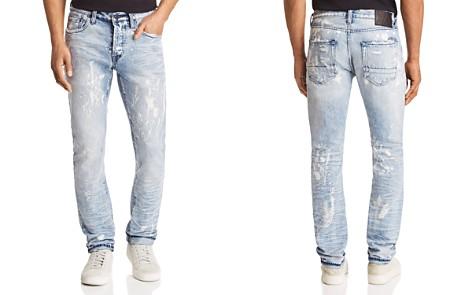 PRPS Goods & Co. LeSabre Slim Straight Fit Jeans in Bleach Spot Indigo - Bloomingdale's_2