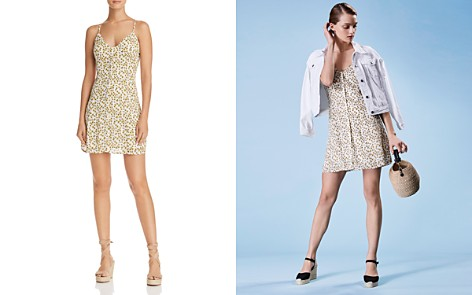 Lost + Wander Prairie Floral-Print Button-Down Mini Dress - 100% Exclusive - Bloomingdale's_2