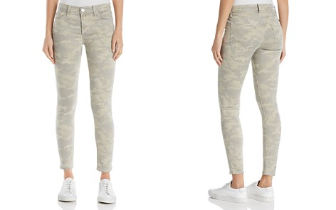 Hudson Nico Mid Rise Ankle Super Skinny Jeans in Army Camo - Bloomingdale's_2