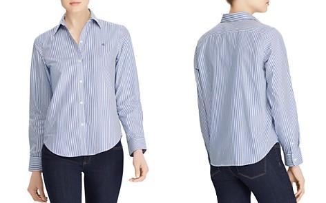Lauren Ralph Lauren Pinstriped No-Iron Shirt - Bloomingdale's_2