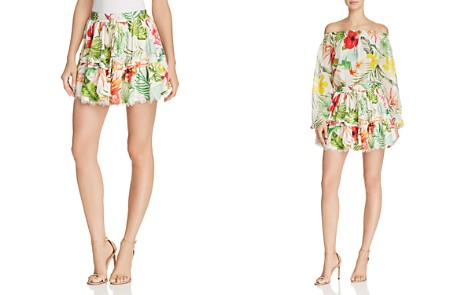 Rococo Sand Floral Mini Skirt - Bloomingdale's_2