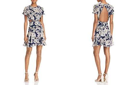 Bardot Brianna Floral Print Cutout Dress - Bloomingdale's_2