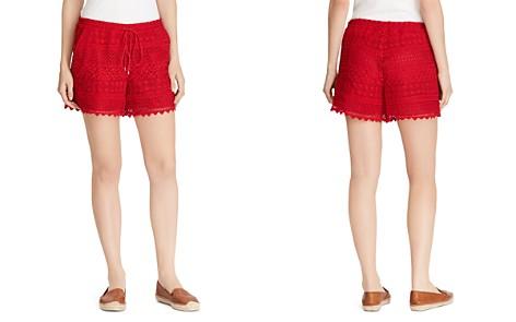 Lauren Ralph Lauren Geo-Lace Drawstring Shorts - Bloomingdale's_2