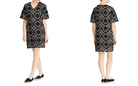 Lauren Ralph Lauren Tile-Print Bell-Sleeve Dress - Bloomingdale's_2