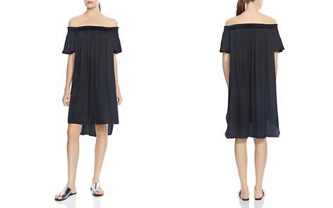 HALSTON HERITAGE Off-the-Shoulder High/Low Dress - Bloomingdale's_2