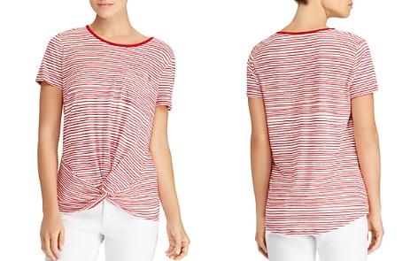 Lauren Ralph Lauren Striped Twist Tee - Bloomingdale's_2