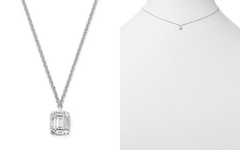"KC Designs 14K White Gold Mini Mosaic Diamond Pendant Necklace, 16"" - Bloomingdale's_2"
