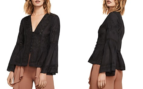 BCBGMAXAZRIA Joice Floral Embroidered Top - Bloomingdale's_2