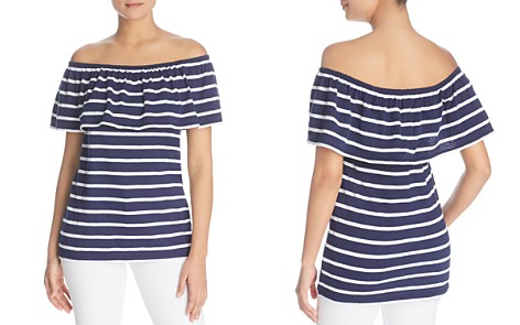 BeachLunchLounge Striped Off-the-Shoulder Top - Bloomingdale's_2