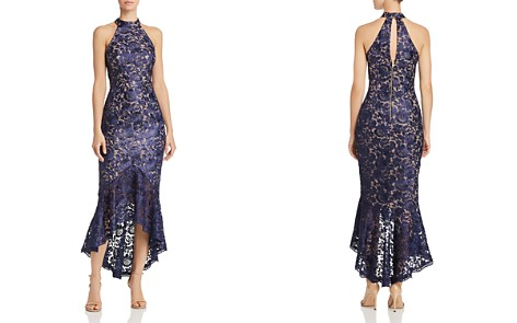 AQUA Floral Lace Midi Dress - 100% Exclusive - Bloomingdale's_2