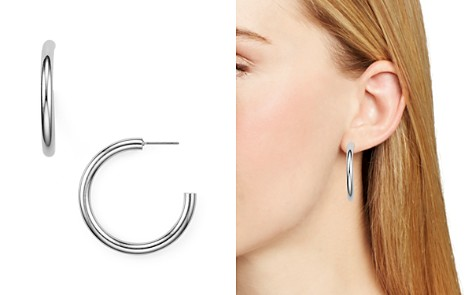 AQUA Modern Hoop Earrings - 100% Exclusive - Bloomingdale's_2