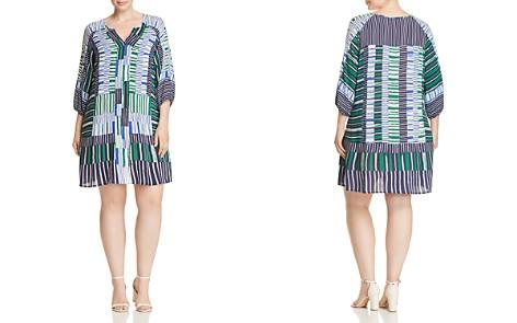 NIC+ZOE Plus Thousand Miles Multi Stripe Dress - Bloomingdale's_2