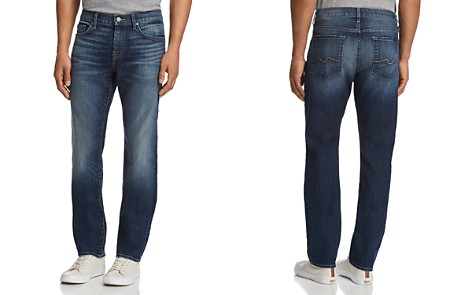7 For All Mankind AirWeft Slimmy Slim Fit Jeans in Mirage - Bloomingdale's_2