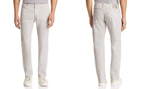 AG Graduate Slim Straight Jeans in Sulfur Pebble Beach - Bloomingdale's_2