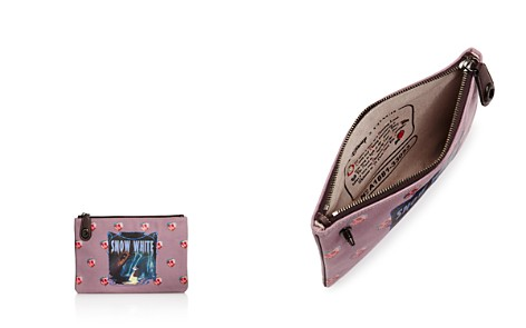 COACH x Disney Snow White Turn-Lock Zip Pouch - Bloomingdale's_2