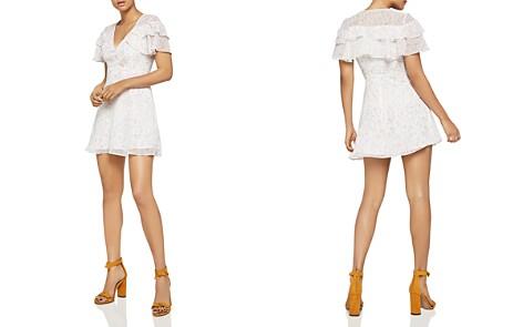 BCBGeneration Ruffled Floral Print Dress - Bloomingdale's_2