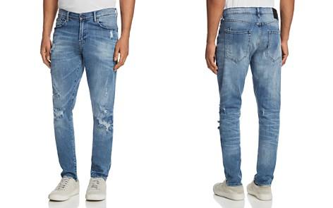 PRPS Goods & Co. Rip and Repair Skinny Fit Jeans in Indigo - Bloomingdale's_2