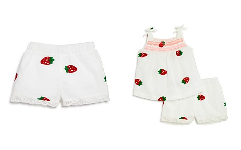 Design History Girls' Strawberry-Embroidered Shorts - Little Kid - Bloomingdale's_2