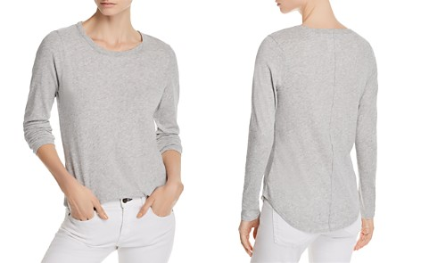 CHASER Seamed Shirttail Tee - Bloomingdale's_2