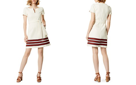 KAREN MILLEN Striped Tweed Dress - Bloomingdale's_2