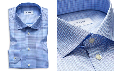 Eton Check Regular Fit Dress Shirt - Bloomingdale's_2
