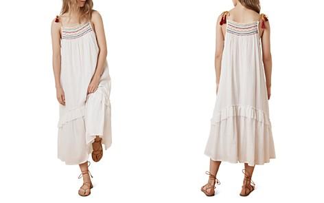 Velvet by Graham & Spencer Aira Smocked Embroidered Maxi Dress - Bloomingdale's_2
