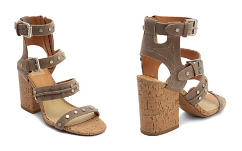 Dolce Vita Women's Eddie Suede High Block Heel Gladiator Sandals - Bloomingdale's_2