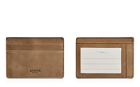 Shinola Outrigger Leather ID Card Case - Bloomingdale's_2
