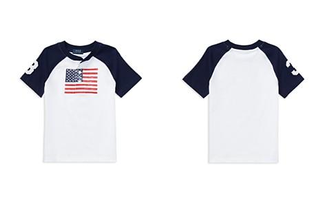 Polo Ralph Lauren Boys' Cotton Jersey American Flag Henley Tee - Little Kid - Bloomingdale's_2