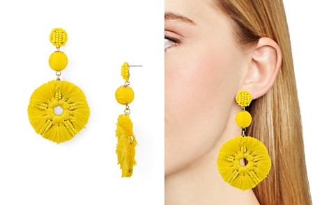 AQUA Round Floral Drop Earrings - 100% Exclusive - Bloomingdale's_2