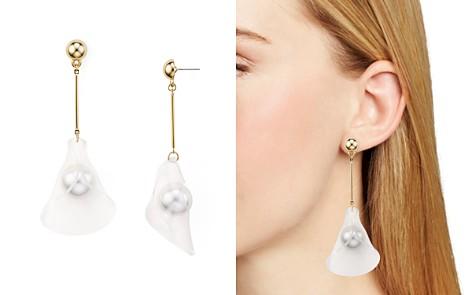 AQUA Petal Drop Earrings - 100% Exclusive - Bloomingdale's_2