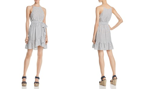 AQUA Stripe Flounce-Hem Dress - 100% Exclusive - Bloomingdale's_2
