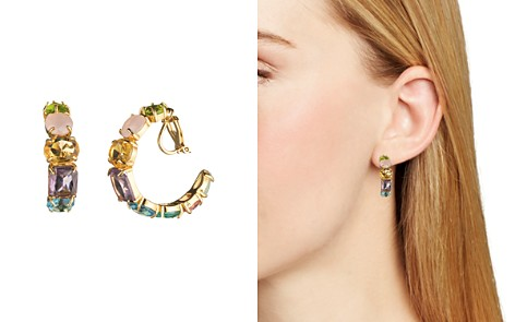 crystals from jewellery rose embellished gold clip buy elegant earrings swarovski on ae with her