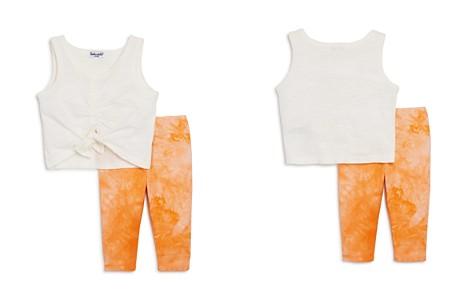 Splendid Girls' Tie-Front Tank & Tie-Dye Leggings Set - Baby - Bloomingdale's_2