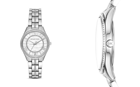 Michael Kors Mini Lauryn Pavé Watch, 33mm x 39mm - Bloomingdale's_2