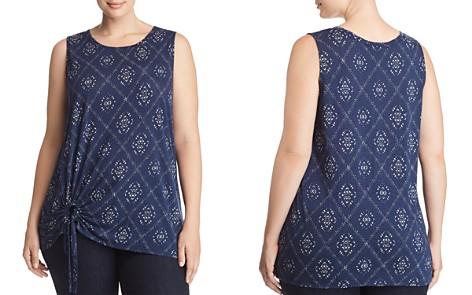 Lucky Brand Plus Printed Tie-Waist Tank - Bloomingdale's_2