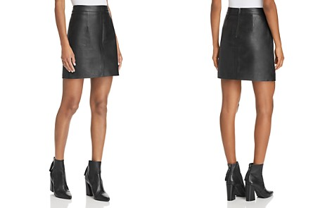 Nobody Cleanline Leather Skirt - Bloomingdale's_2