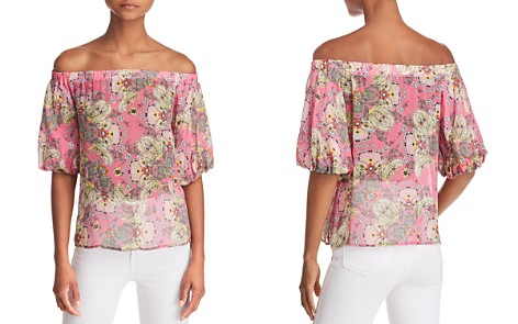 Bailey 44 Tune In Floral Paisley Off-the-Shoulder Top - Bloomingdale's_2