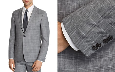 HUGO Astian Slim Fit Tonal Plaid Suit Jacket - Bloomingdale's_2